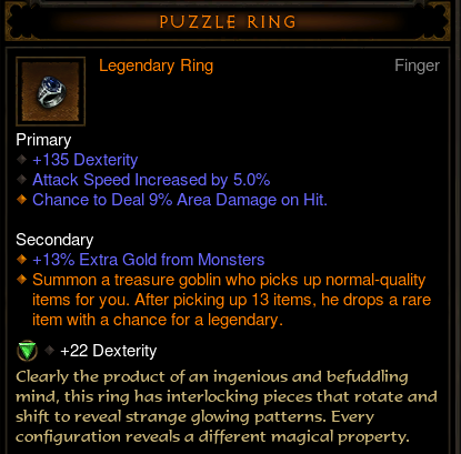 Where Does The Puzzle Ring Drop In Diablo