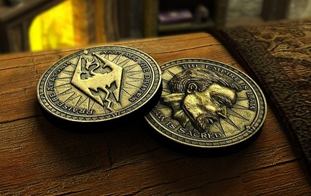Skyrim Gold Coin Crafting Mod